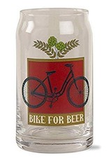 Bike For BEER Glass