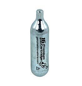 CO2 Cartridge Refill, Single, Threadless