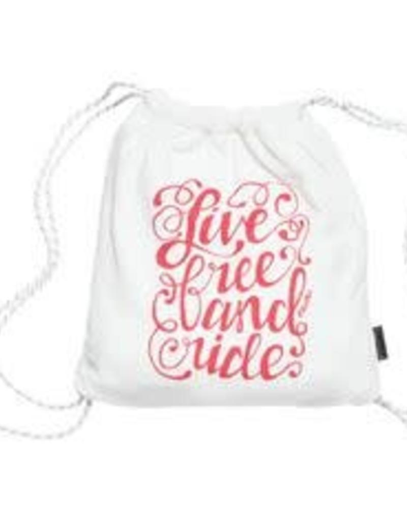 ELECTRA Towel Electra Towel in a Bag Live Free One Size White