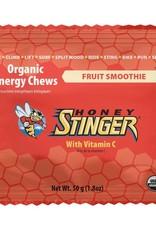 HoneyStin Honey Stinger, Organic Energy Chews, 50g, Fruit Smoothie-----SINGLE-----