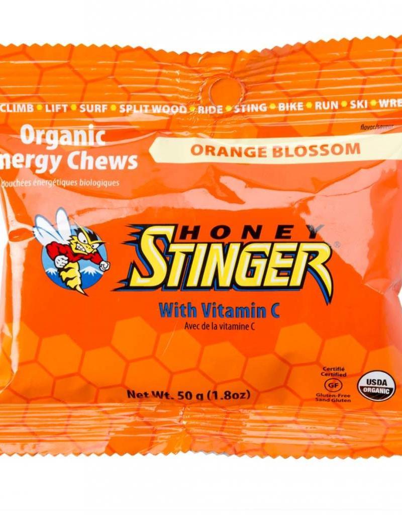 HoneyStin Honey Stinger, Organic Energy Chews, Orange-----SINGLE-----