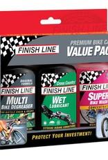 Finish Line VALUE PACK - 4OZ ECO/WET/WASH