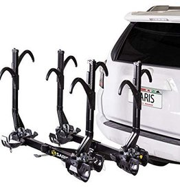 Saris Saris, SuperClamp EX, Hitch mounted bike rack, 4 Bikes, 2'', Black