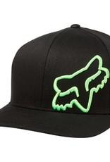 fox head FLEX 45 FLEXFIT HAT [BLK/GRN] S/M