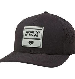 fox head MIDWAY FLEXFIT HAT [BLK] L/XL