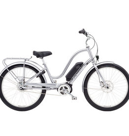 Electra Bicycle Company ELECTRA Townie GO! Ladies' Polished Silver