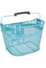 ELECTRA Basket Electra Linear QR Mesh Metallic Light Blue