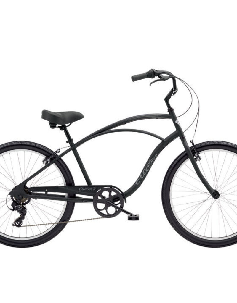 ELECTRA Cruiser 7D Men's 26 Matte Black