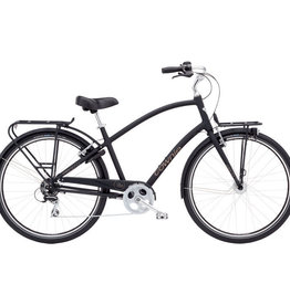 ELECTRA Townie Commute 8D EQ Mens M MATTE BLACK