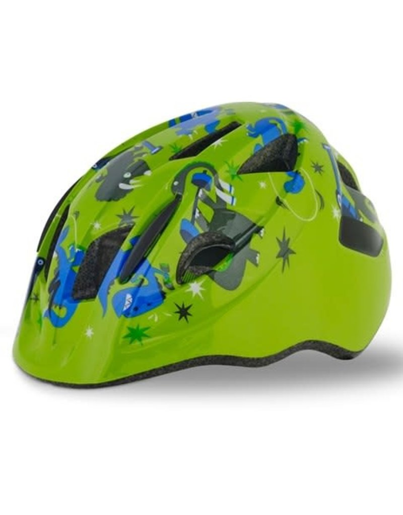Specialized MIO SB HELMET - Green/Blue Dinos