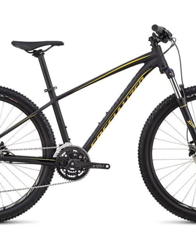 Specialized 19 SPECIALIZED PITCH MEN COMP 27.5 - Satin Gloss Black / Black / Gold L