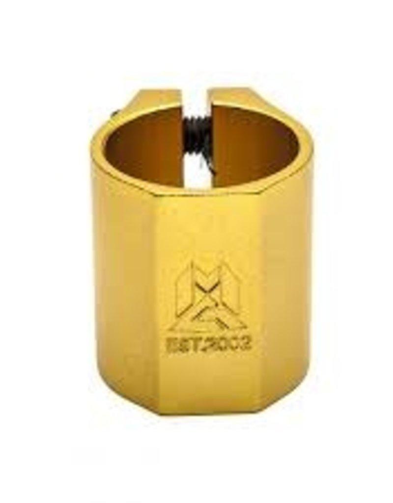 mgp MGP MFX Extreme Double clamp  gold
