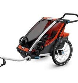 Thule Thule Chariot Cross 1 Trailer and Stroller: Roarange, 1 Child