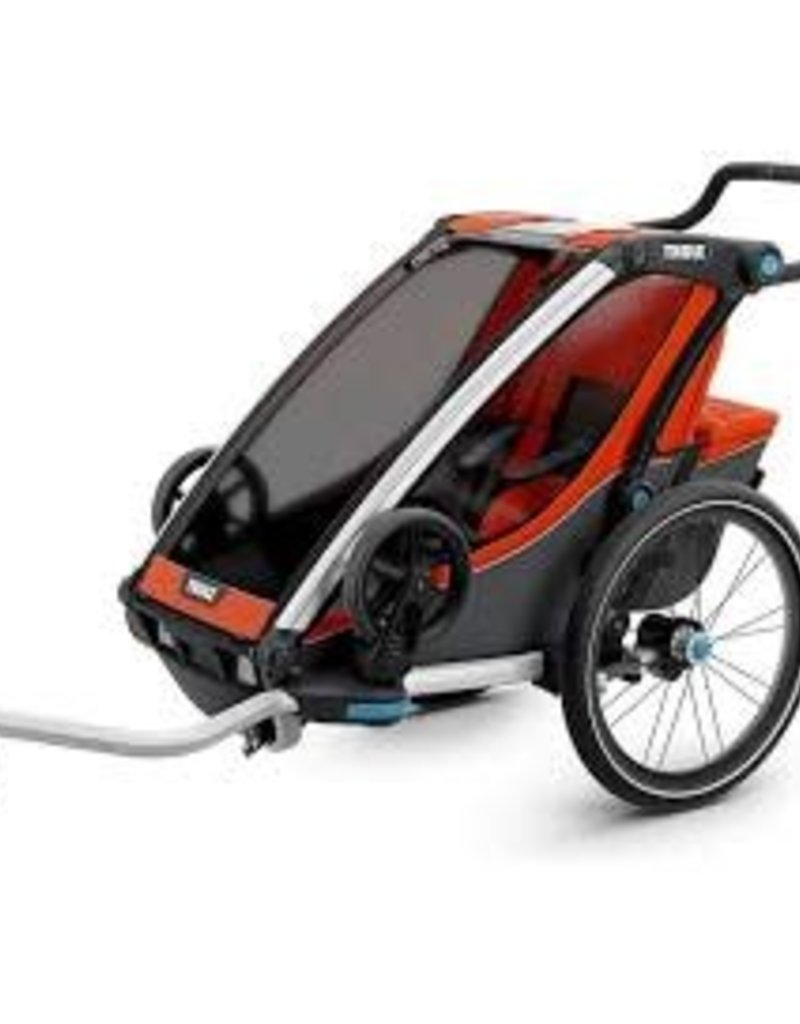 Thule Thule Chariot Cross 1 Trailer and Stroller: Roarange, 1 Child