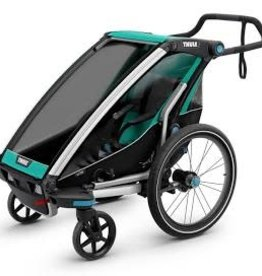 Thule Thule Chariot Lite 1 Trailer and Stroller: Bluegrass, 1 Child
