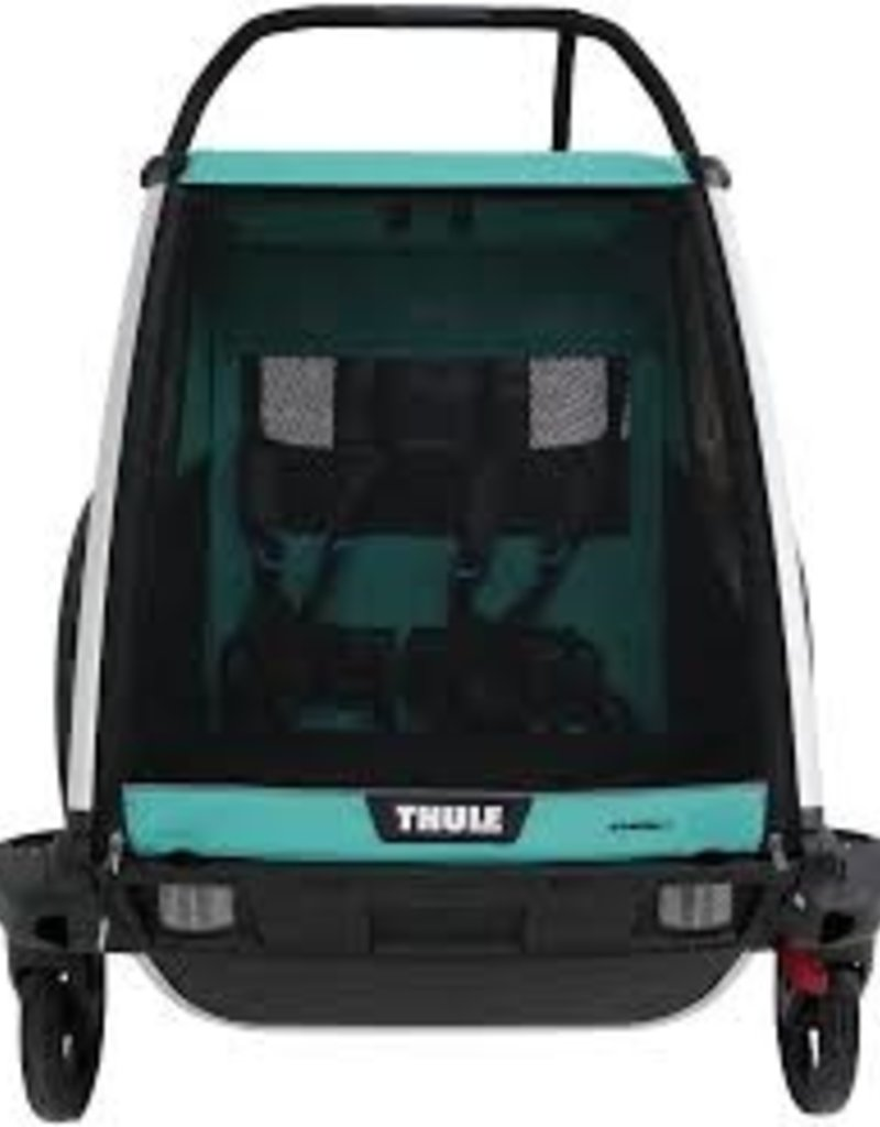 Thule Thule Chariot Lite 2 Trailer and Stroller: Bluegrass, 2 Child
