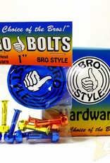 "Bro Bolts Skateboard Hardware 1"" Phillips 'Jaws'"