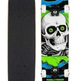 "Powell Peralta Powell-Peralta Ripper One Off 7.75"" Complete-Board (blue green)"