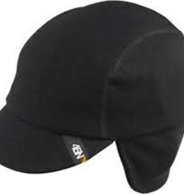 45NRTH 45NRTH Greazy Cycling Cap: Black LG/XL