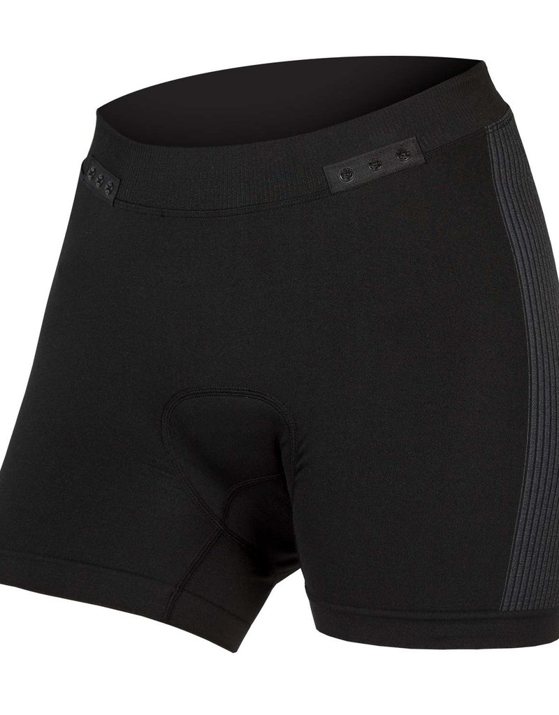 ENDURA ENDURA WMNS ENGINEERED BOXER CLICK, BLACK: XS