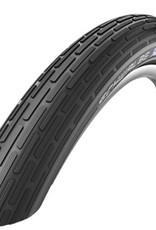 SCHWALBE Schwalbe Fat Frank Tire 26 x 2.35 (60-559) Black, Reflective Strip, Kevlar Guard, Wire