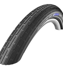 SCHWALBE Schwalbe Fat Frank Tire 26 x 2.35 (60-559) Black, Reflective Strip, Kevlar Guard, Wire