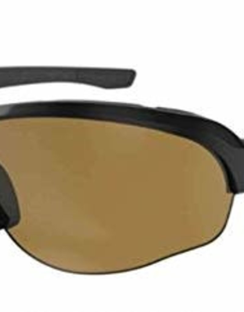 Ryders FLUME POLY BLACK / BROWN LENS