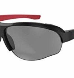 Ryders FLUME POLY BLACK-RED / GREY LENS