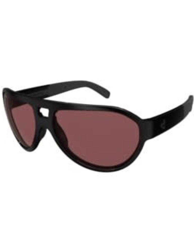 Ryders HILINE POLY SHINY BLACK / ROSE LENS ANTI-FOG
