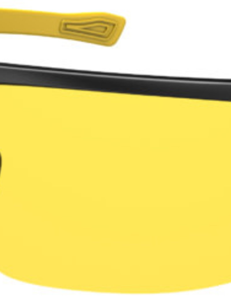 Ryders SEVENTH POLY BLACK-YELLOW / YELLOW LENS ANTI-FOG