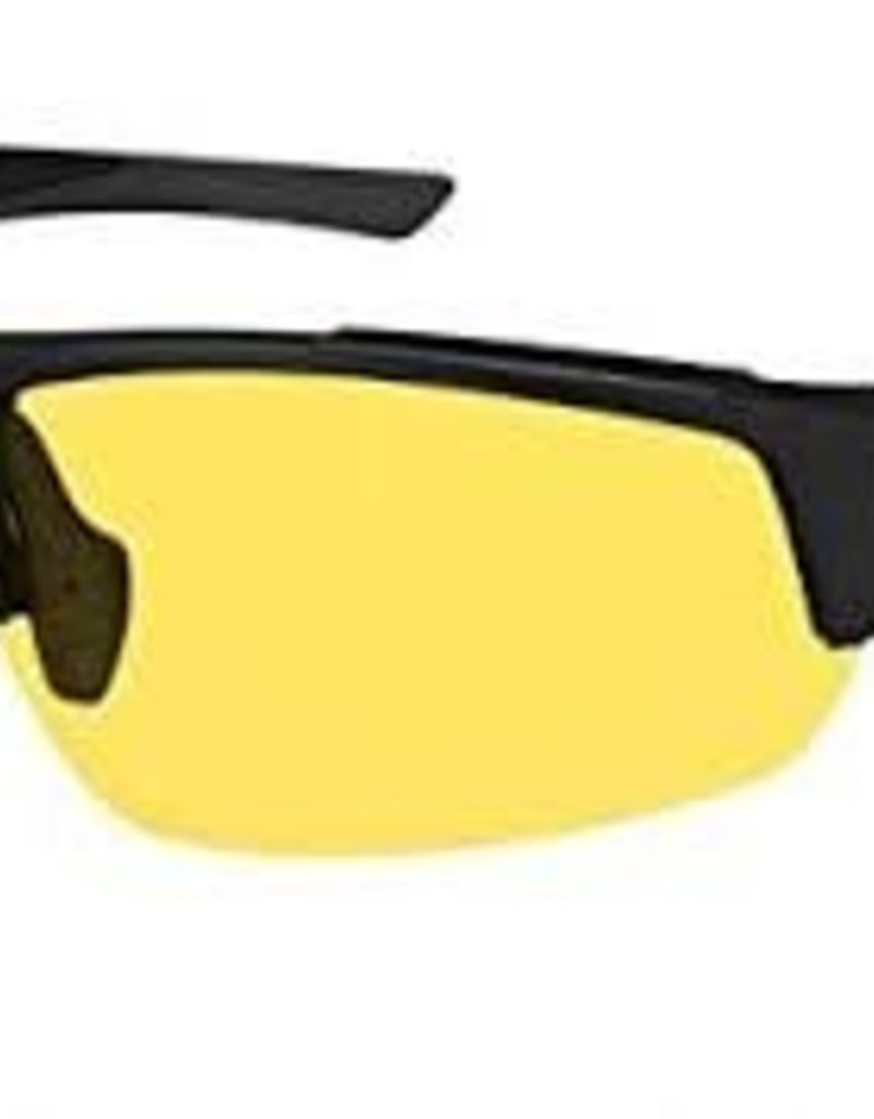 Ryders STRIDER POLY BLACK / YELLOW LENS