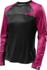 Specialized WOMEN'S ANDORRA COMP LONG SLEEVE JERSEY - Black/Pink - LG