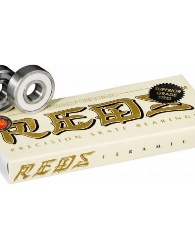 BONES Ceramic REDS  Bearings (8 pack)