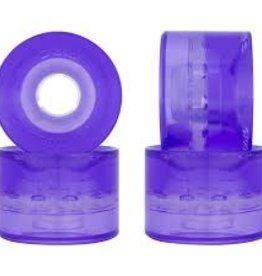 Sunset Flair LED Purple 59/78 Cruiser Wheels