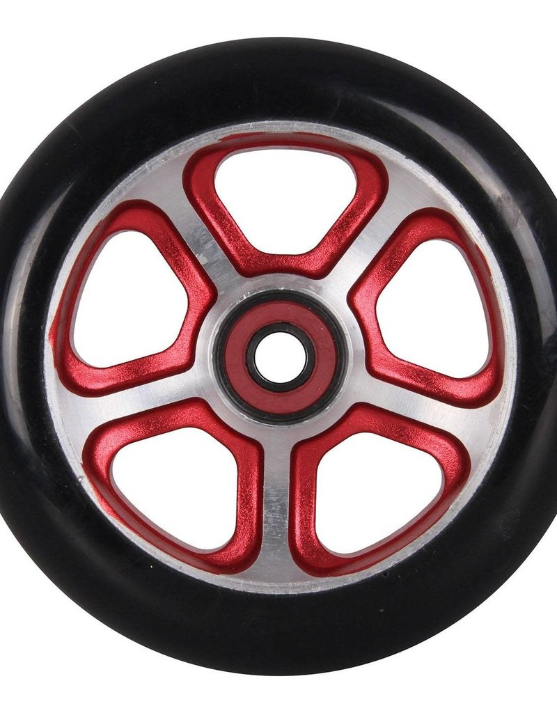 Madd Gear MGP 110mm Filth Wheel Black w/ Red Core