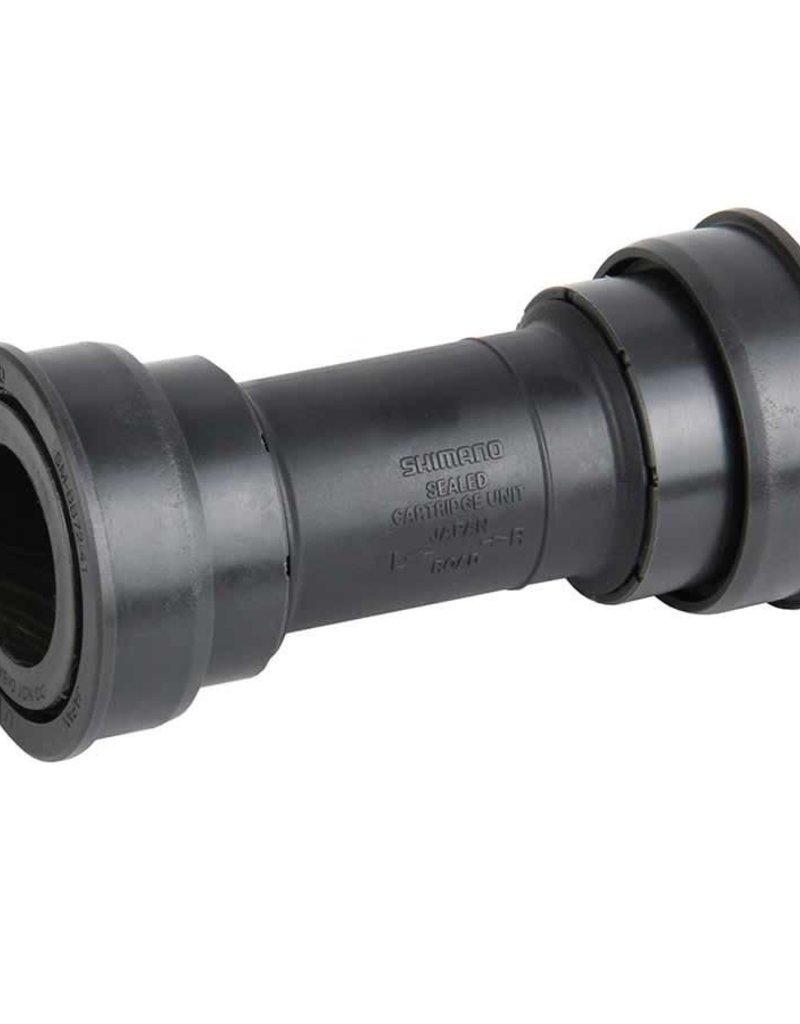 Shimano Shimano, ISMBB7241B, SM-BB72-41B, Press-fit, BB Shell: 86.5mm, Dia.: 41mm, Axle: 24mm, Steel, Grey
