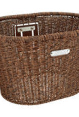 ELECTRA ELECTRA Basket  Plastic Woven Dark Brown
