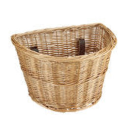 ELECTRA BASKET ELECTRA QR WICKER NATURAL FRONT W/HANDLE