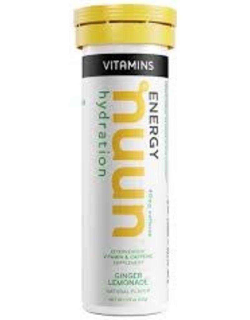 NuuN Nuun Vitamin Ginger Lemonade (w/ Caffeine)