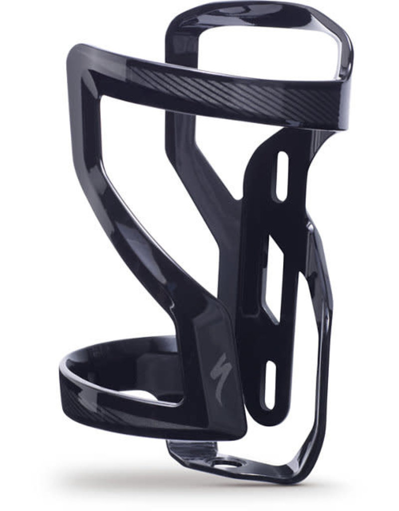 Specialized ZEE CAGE II LEFT DT - Gloss Black/Charcoal .