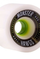 hawgs Monster Hawgs Wheels 76mm 80a White 4pk