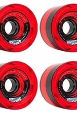 hawgs 70's Hawgs Wheels 78a Clear Red 4pk