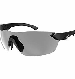Ryders NIMBY PHOTO BLACK MATTE / LT GREY LENS 75%-26% ANTI-FOG
