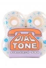 Dial Tone Standard 99a 53mm Rotary Dial Wheels 4pk White