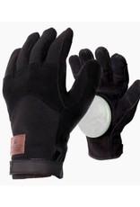 Landyachtz Landyachtz Freeride Leather Patch Slide Glove LG w/slide pucks Black