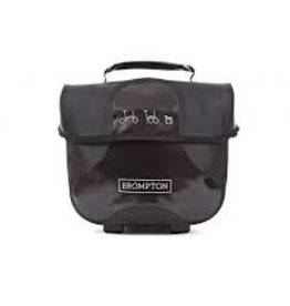 BROMPTON Mini O Bag Black with reflective materials