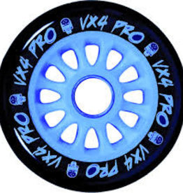 Madd Gear MGP 100mm VX4 Pro Wheel black w/ blue core