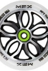 Madd Gear MGP MFX Switchblade 120mm Wheel White/NeoChrome