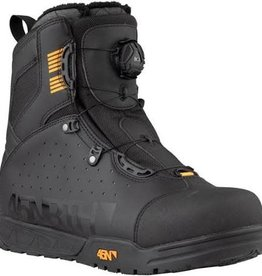 45NRTH 45NRTH Wolvhammer Cycling Boot: BOA Closure, Black, Size 45