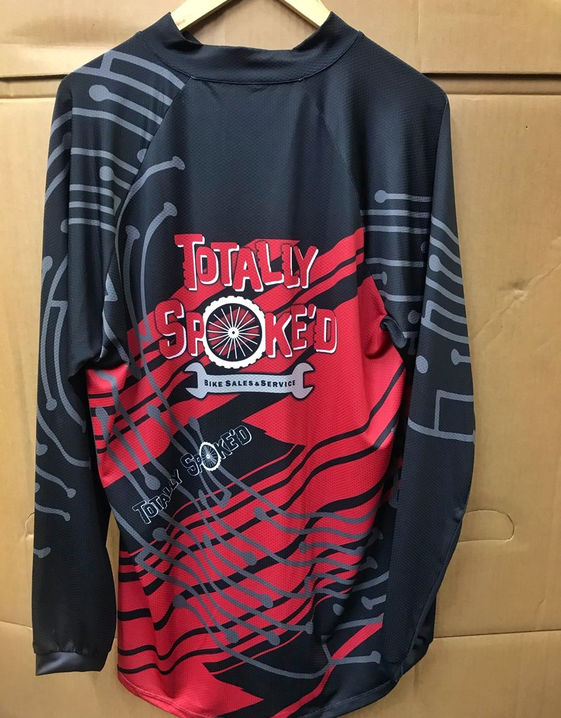 Totally Spoke'd Totally Spoke'd Ridgeline LS MTB Jersey 2XS
